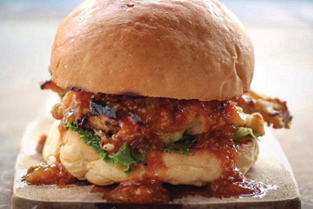 Beef Lava Burger